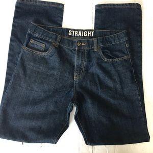 Crazy 8's Boy's 16 Dark Wash Straight Denim Jeans
